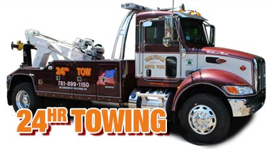24-hour towing waltham mass