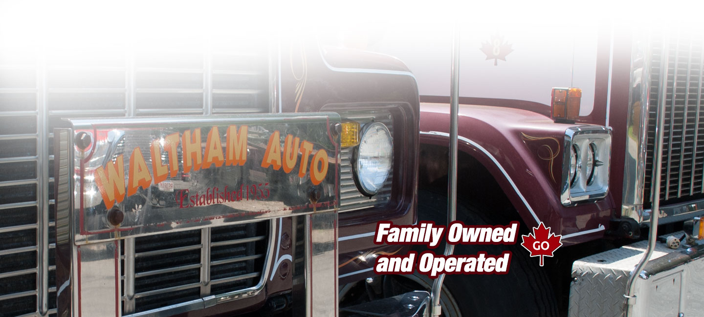 Family Owned Waltham Towing Company